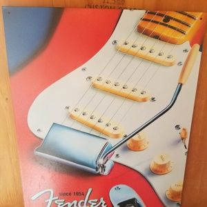 Fender Guitar tin sign